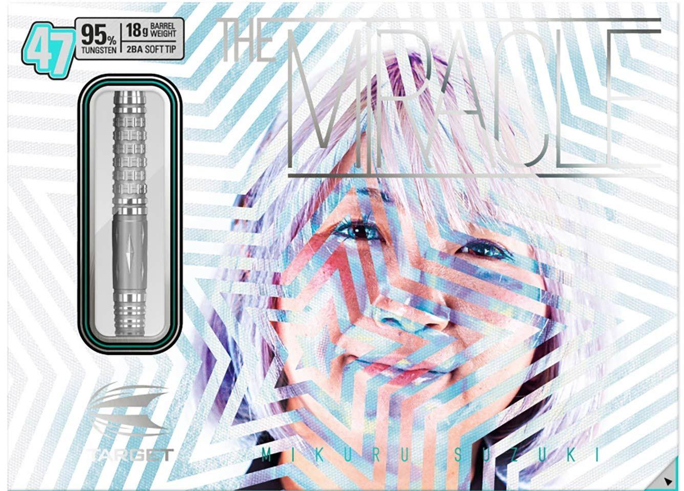 """Rzutki Target Mikuru Suzuki """"THE MIRACLE"""" 47 (soft tip)"""