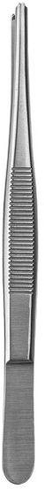 Pinceta chirurgiczna (pęseta chirurgiczna) 1x2 ząbki - (wybór rozmiarów: 10.5cm, 11.5cm, 14cm, 16cm, 18cm, 20cm, 25cm, 30cm)