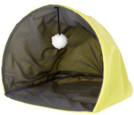 Kerbl gniazdo do zabawy w jaskini miodowej, 37 x 35 x 30 cm, żółty/szary