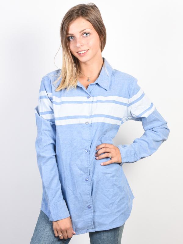 Element JANEY OXFORD BLUE damskie koszulka z długim rękawem - M