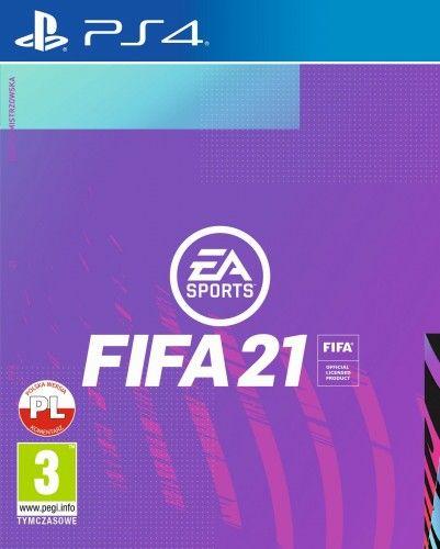 Fifa 21 Edycja Mistrzowska PS 4