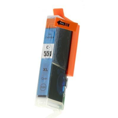 Tusz Zamiennik CLI-551 C XL do Canon (6444B001) (Błękitny) - DARMOWA DOSTAWA w 24h