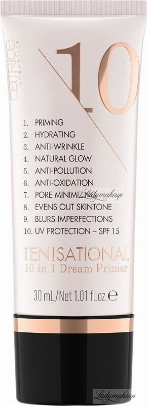 Catrice - TEN!SATIONAL 10 in 1 Dream Primer - Baza pod makijaż 10w1