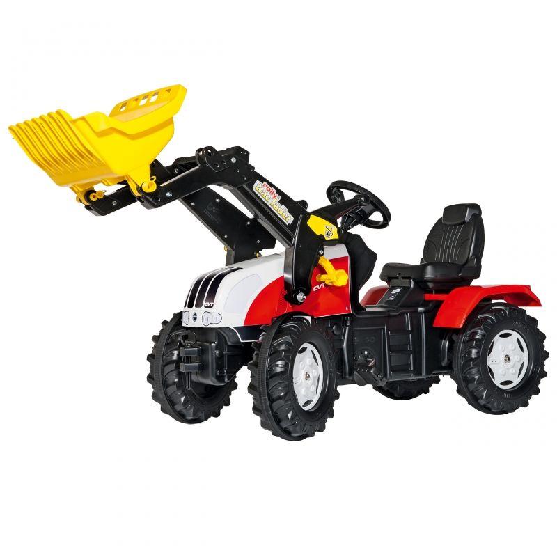Rolly Toys rollyFarmTrac Traktor na Pedały Steyr Łyżka 3-8 Lat LK