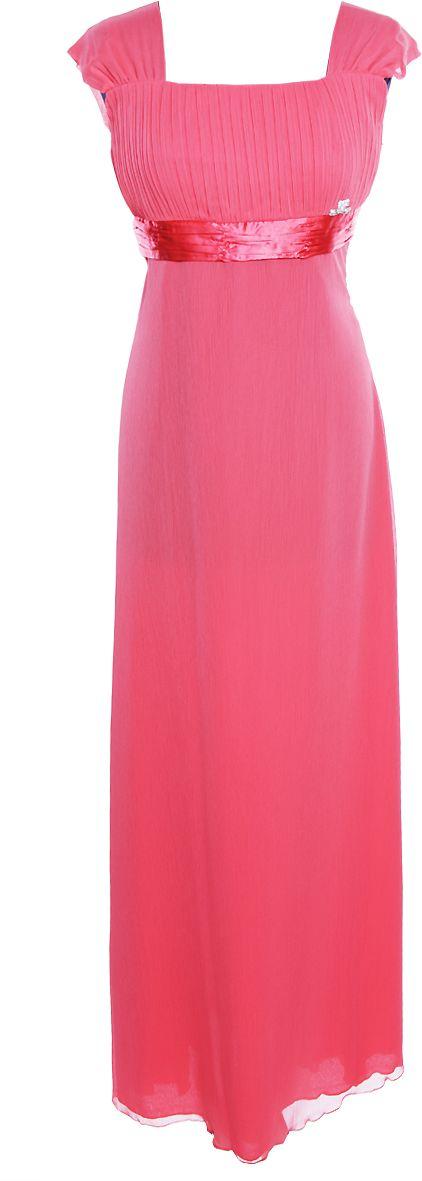 Sukienka FSU158 KORALOWY