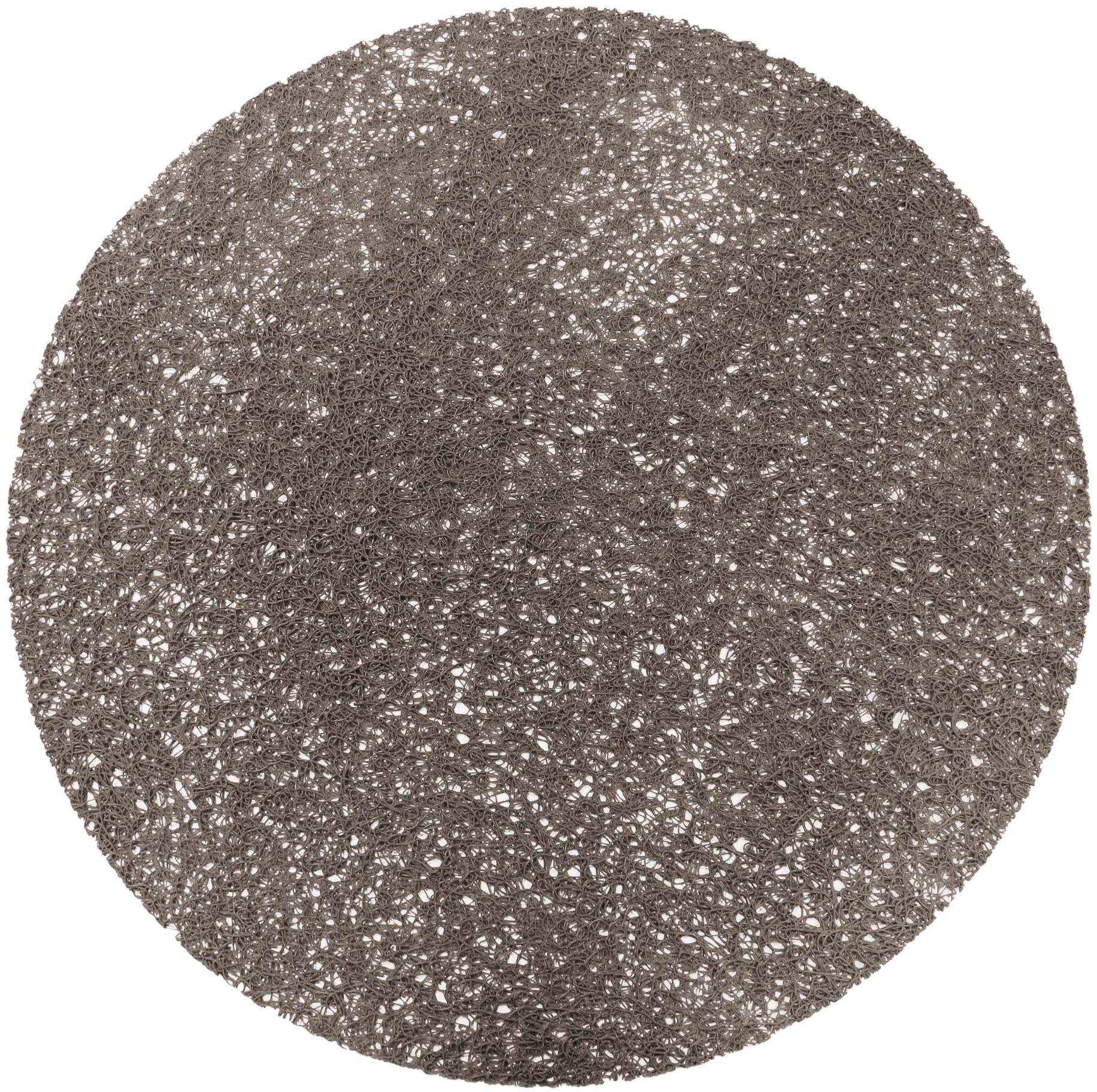 DECORLINE Podkładka (0) 38 PVC Tortilla GrIS, szara