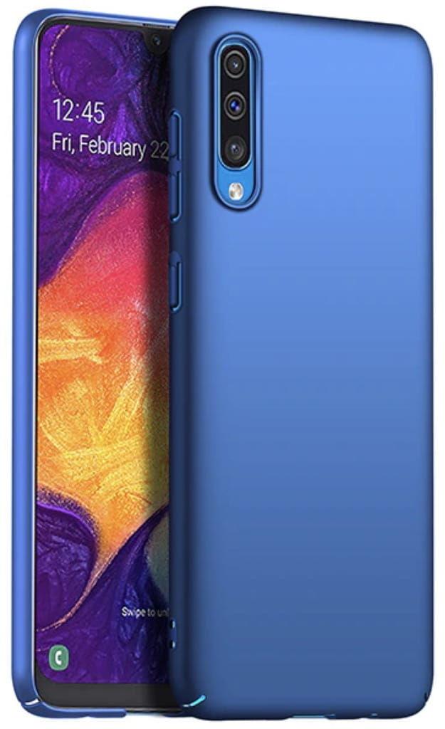 Etui Frosted Armor Samsung Galaxy A50 - Niebieski