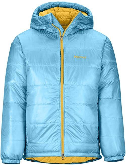 Marmot West Rib Parka męska lekka izolowana kurtka puchowa, szkliwo niebieska, 2 x duża