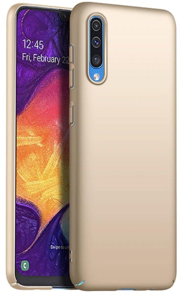 Etui Frosted Armor Samsung Galaxy A50 - Złoty