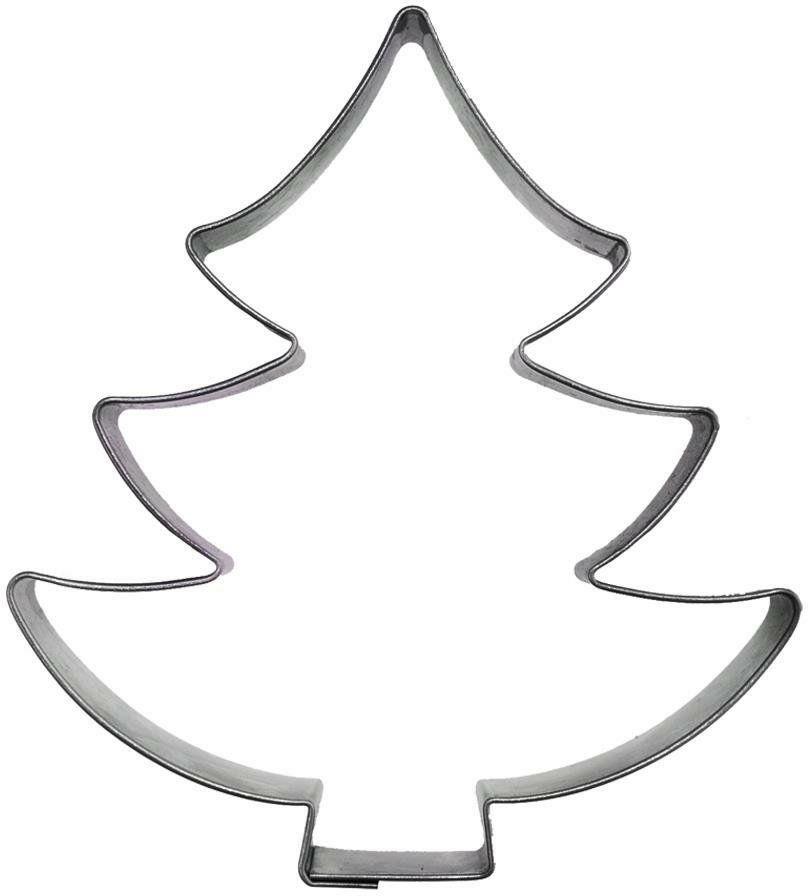 Świąteczny wykrawacz cukierniczy foremka do ciastek pierników choinka święta Boże Narodzenie