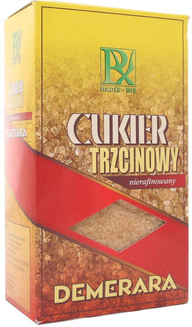 Cukier trzcinowy nierafinowany - Radix - 500g