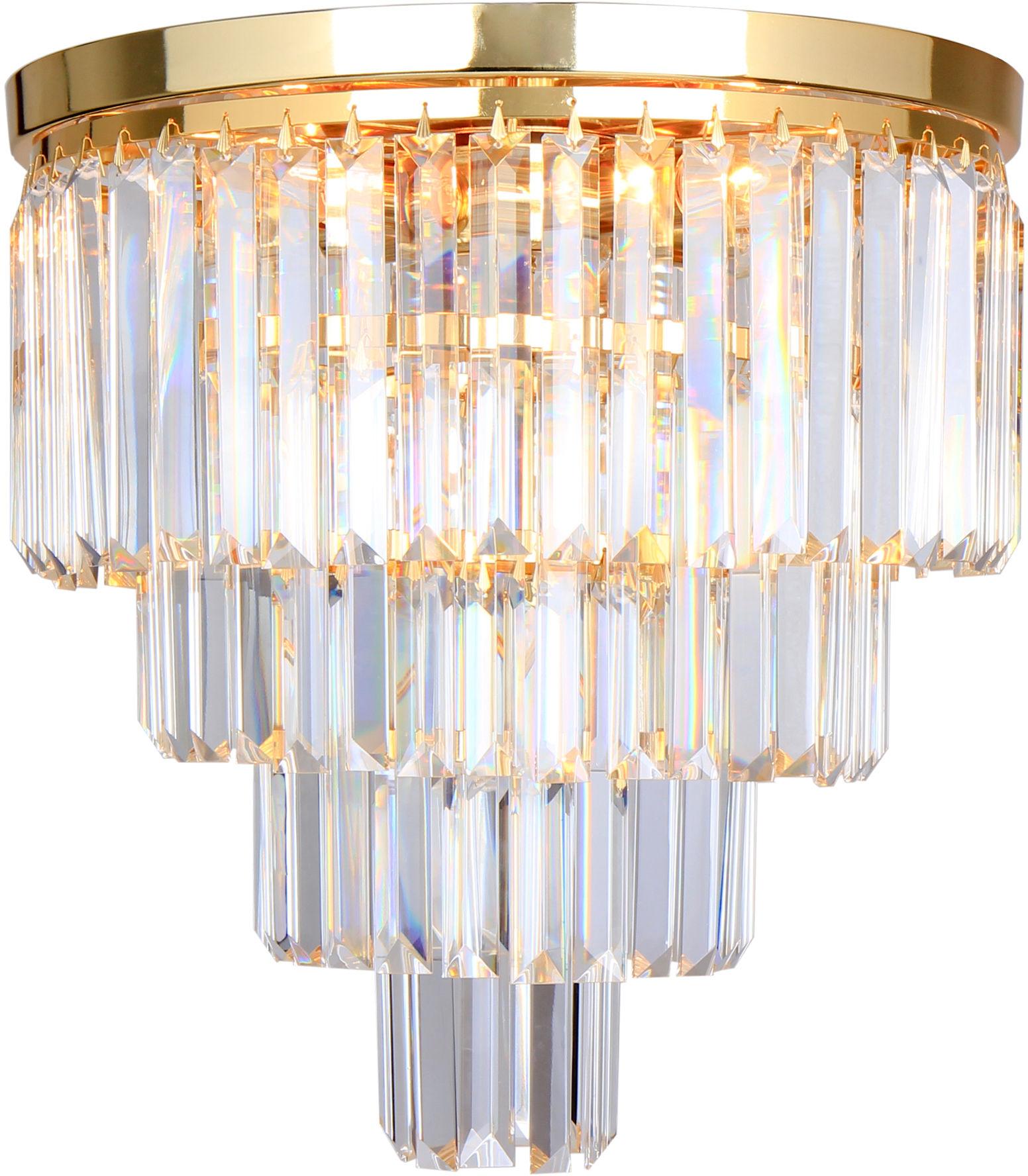 FC17106/4+1 -GLD AMEDEO LAMPA SUFITOWA ZŁOTA/GOLD