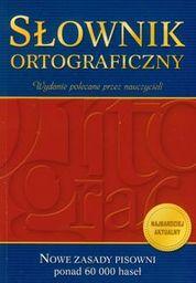 Słownik ortograficzny ZAKŁADKA DO KSIĄŻEK GRATIS DO KAŻDEGO ZAMÓWIENIA