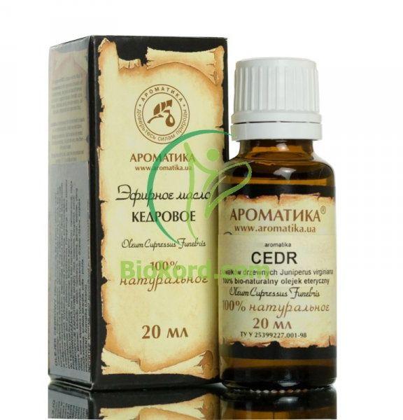 Olejek Cedrowy, 100% Naturalny