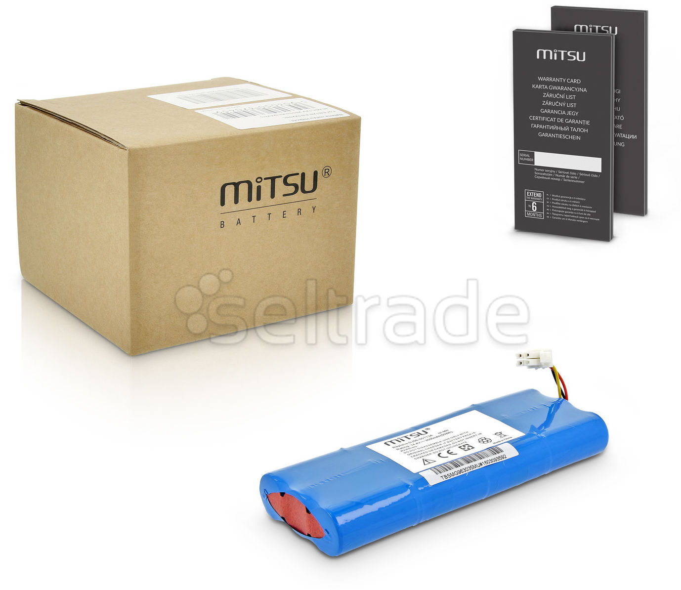 Bateria Mitsu do Samsung Navibot SR9630 3500mAh