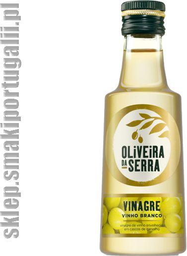 Ocet winny z białego wina sezonowanego 250ml Oliveira da Serra