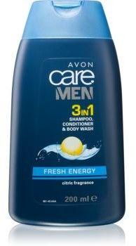 Avon Care Men 3 w 1 szmpon, odżywka i żel pod prysznic dla mężczyzn 200 ml