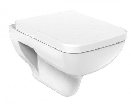 Miska WC wisząca 35,5x51 cm+deska Soft Close, BENE