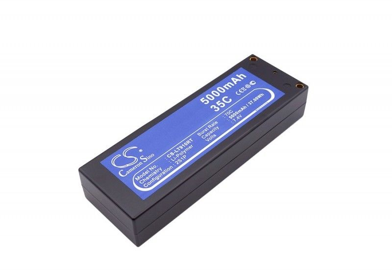 5000mAh 37.00Wh Li-Polymer 7.4V 2S 35C (Cameron Sino)