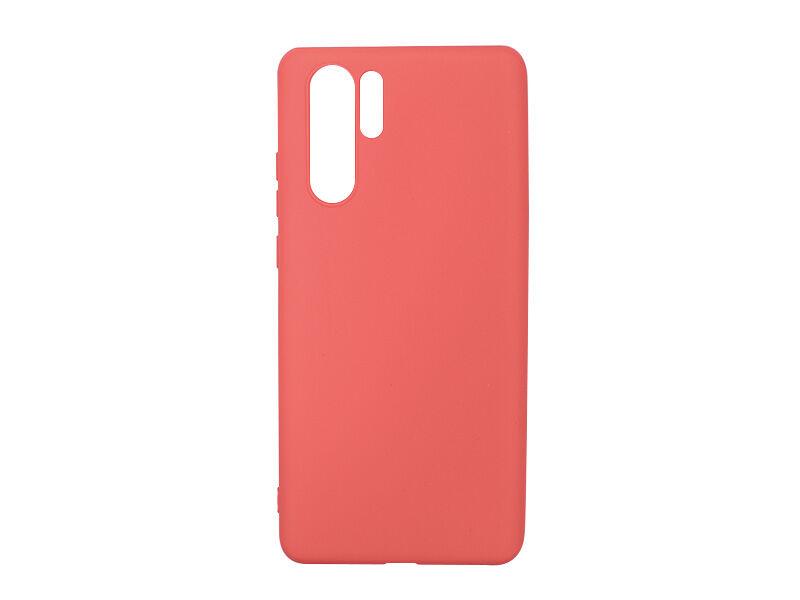 Huawei P30 Pro - etui na telefon Soft Flex - czerwony