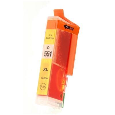 Tusz Zamiennik CLI-551 Y XL do Canon (6446B001) (Żółty) - DARMOWA DOSTAWA w 24h