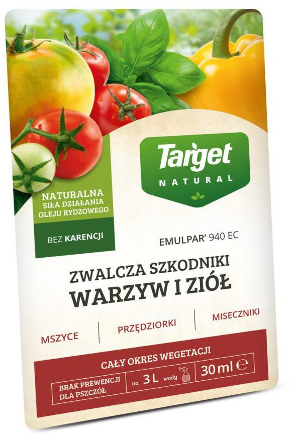 Środek owadobójczy EMULPAR 940 SC 30 ml TARGET NATURAL