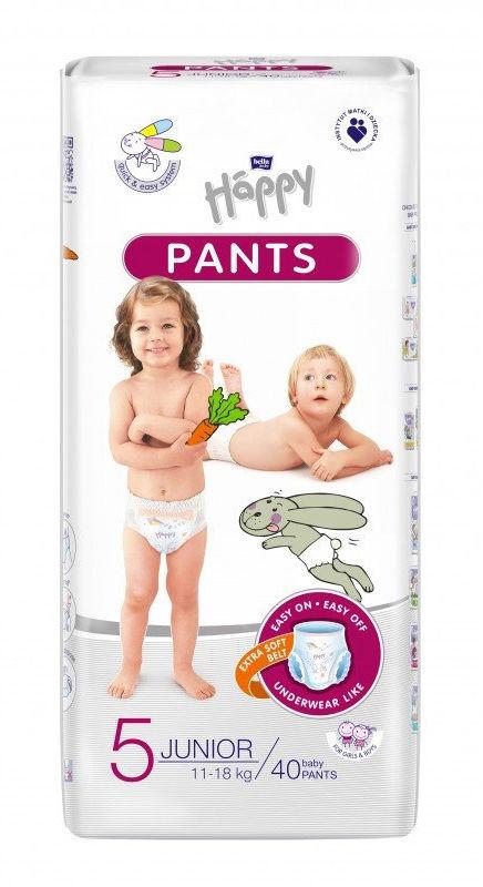 Bella Happy Pants Rozmiar 5, 40 pieluchomajtki