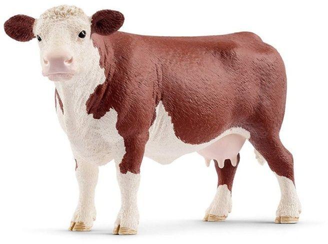 Figurka Krowa rasy Hereford