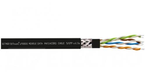 Bitner LP0900 BiTsound MOBILE DATA PATCHCORD CABLE S/UTP 4x2x26/7AWG cat. 5e, skrętka do zastosowań scenicznych