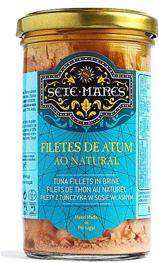 Filety z tuńczyka w sosie własnym 250g Sete Mares