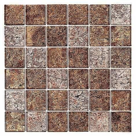 DUNIN Spark mozaika szklana Walnut mix 48