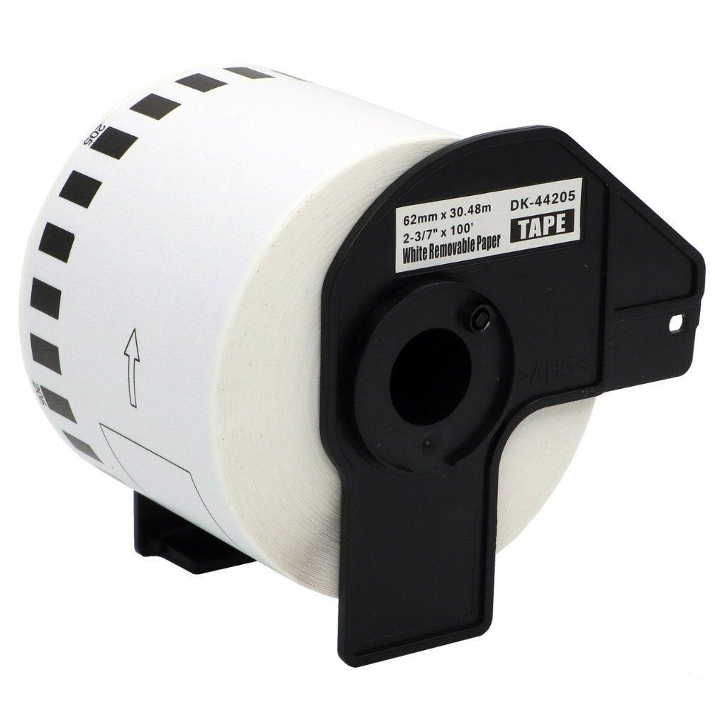 Taśma Brother DK-44205 odlepna 62mm x 30.48m do drukarki etykiet QL - zamiennik OSZCZĘDZAJ DO 80% - ZADZWOŃ! 730811399