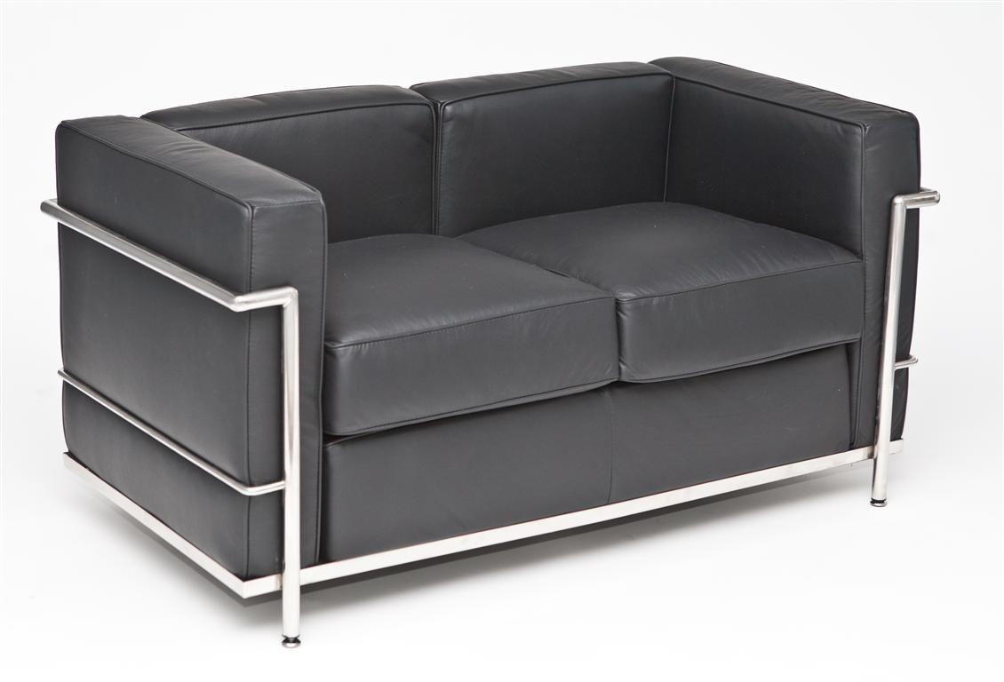 D2 Sofa 2-osobowa Kubik skóra TP