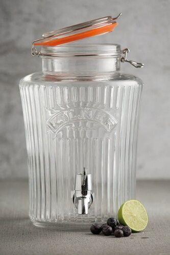 Dzban słój dystrybutor do napojów KILNER Vintage Drinking 8 l