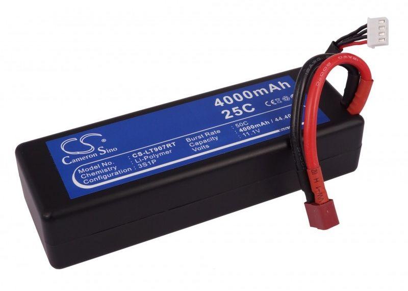 4000mAh 44.40Wh Li-Polymer 11.1V 3S 25C (Cameron Sino)