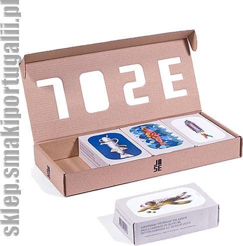 Zestaw czterech konserw (makrele, sardynki, mini sardynki) 4x125g Jose Gourmet