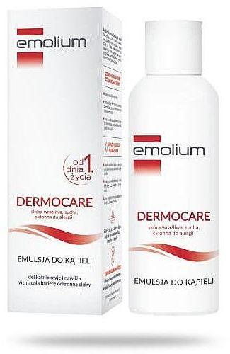 Emolium Dermocare emulsja do kąpieli od urodzenia 200 ml