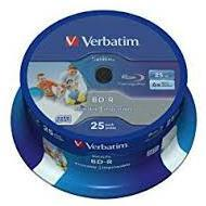 Verbatim BluRay BD-R SL 25 GB x6 50 szt. DATALIFE
