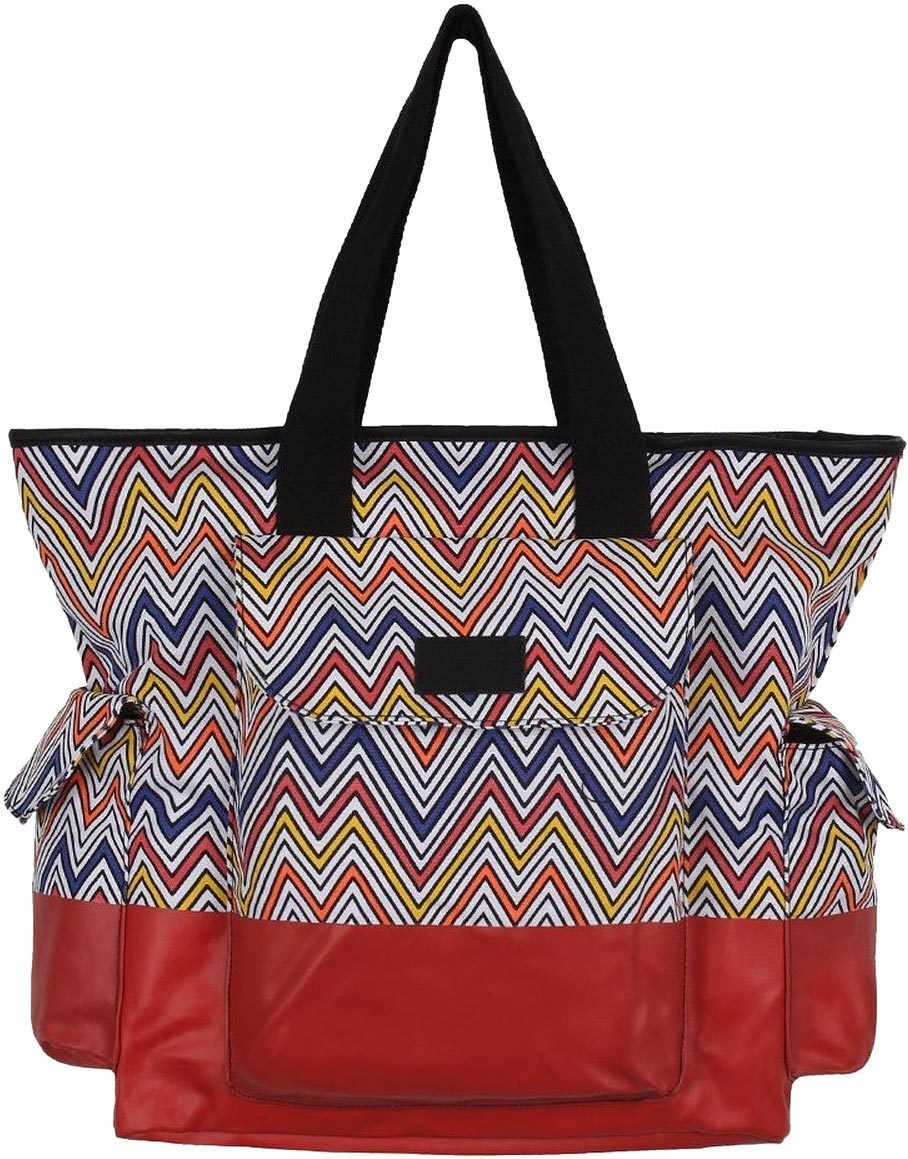 torba damska VANS PEACE MAKER TOTE BAG Chevron Multi/True White