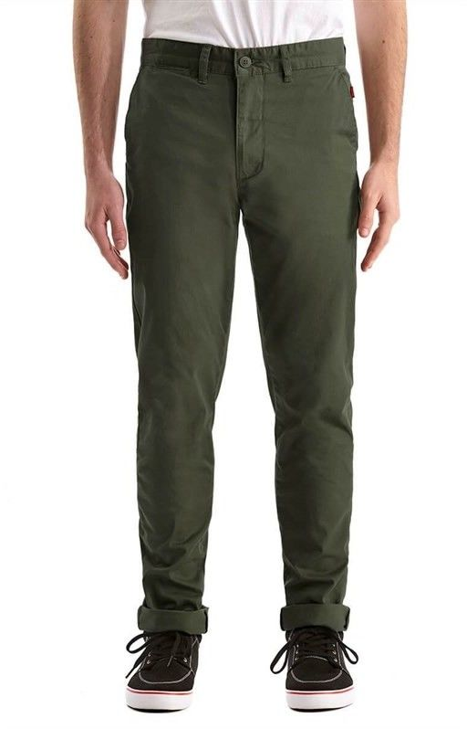 spodnie GLOBE - Goodstock Chino Cadet Green (CTGRN)