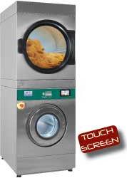 Pralko-suszarka 11 kg (elektryczna) + suszarka obrotowa 11 kg (elektryczna) TOUCH SCREEN 23000W 720x1003x(H)1991mm