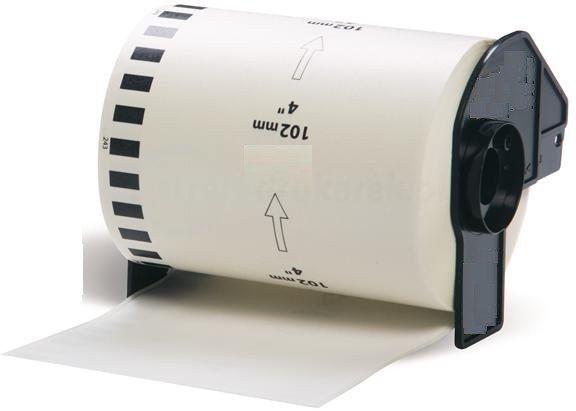 Taśma Brother DK-22243 102mm x 30.48m do drukarki etykiet QL - zamiennik OSZCZĘDZAJ DO 80% - ZADZWOŃ! 730811399