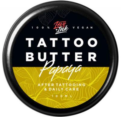 Masło Krem do Tatuażu Loveink Papaya Papaja 100ml