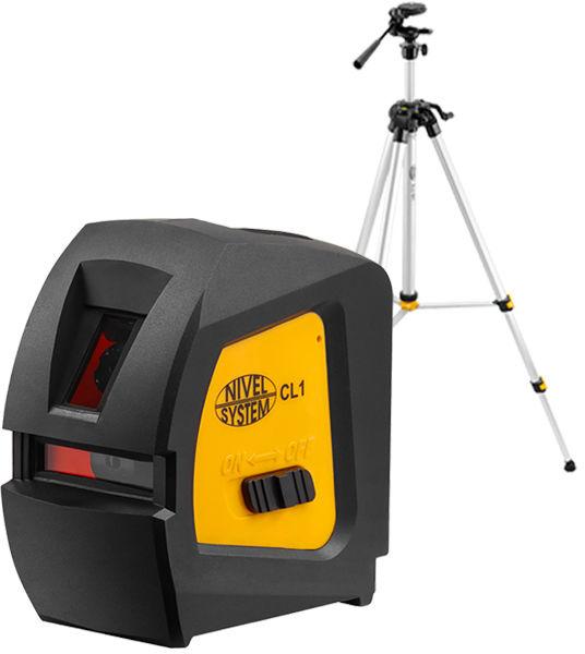 Laser krzyżowy CL1 + statyw SJJ-M1 EX wysięgnikiem