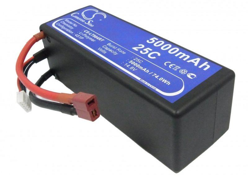5000mAh 74.00Wh Li-Polymer 14.8V 4S 25C (Cameron Sino)