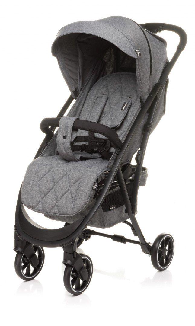 Wózek spacerowy SMART 2.0 Grey 4BABY