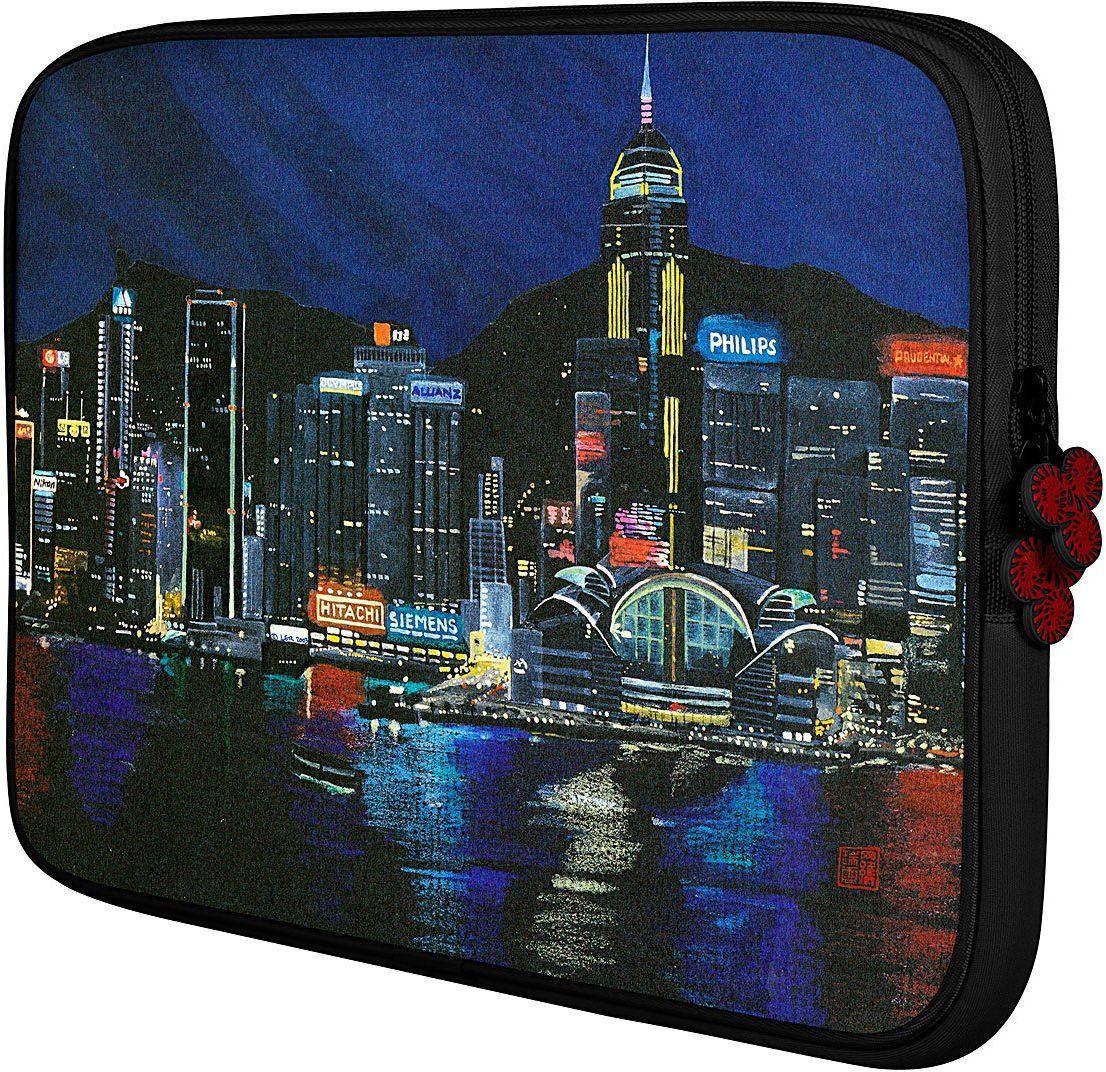 Be.ez LA Robe Hongkong na noc rękaw na 15,4-calowy Apple MacBook Pro - czerwony