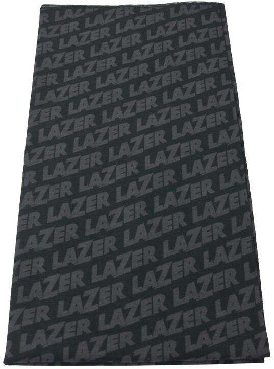 Wielofunkcyjna tuba, komin, chusta rowerowa z logo Lazer, czarny