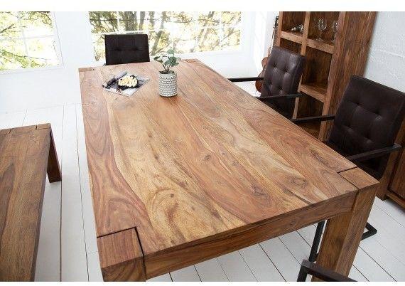 Stół drewniany Santar 160cm Invicta