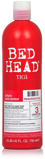 Tigi Bed Head Resurrection Odżywka do włosów słabych i łamliwych 750 ml